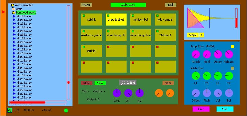 audacity plugins drum machine